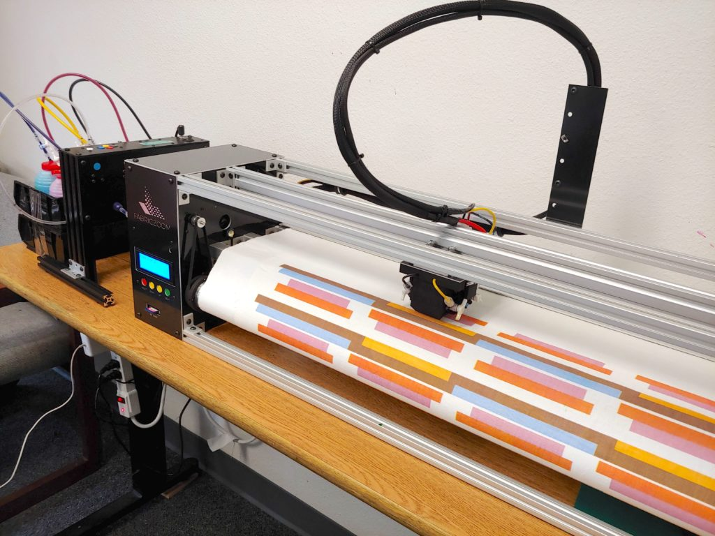 The First Affordable Fabric Printer Fabriczoom