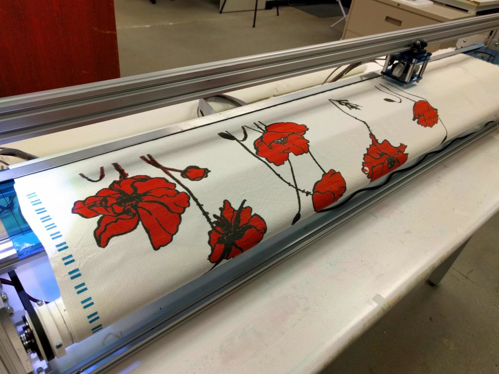 the first affordable fabric printer - FABRICZOOM