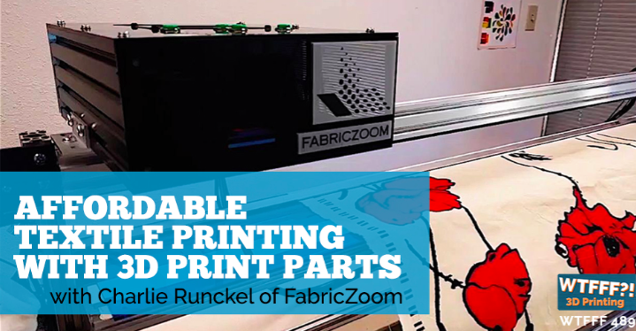 Interview: Affordable Textile Printing with 3D Print Parts